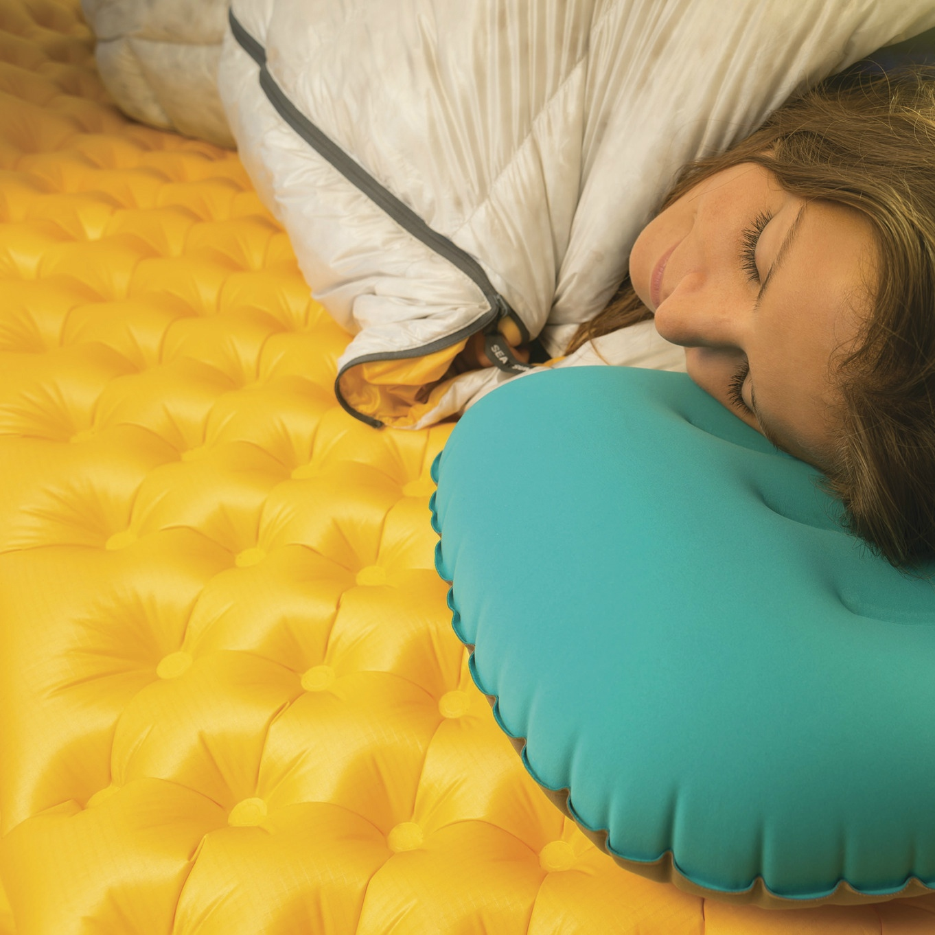 sea to summit ultralight mat giving  a good nights sleep