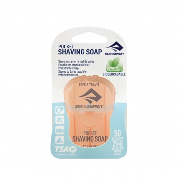 Trek TravelPocketShavingSoap 50Leaf Packaged