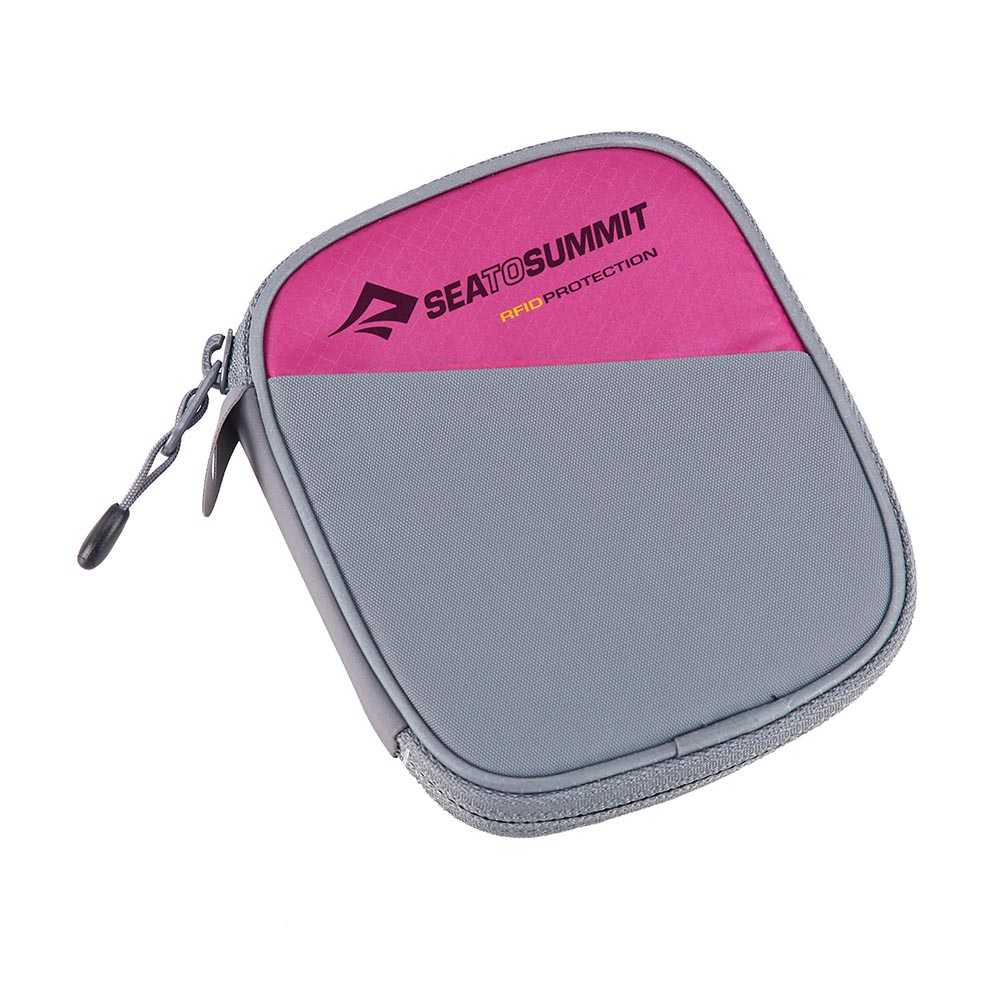 Sea to Summit Travelling Light RFID Travel Wallet Berry Medium